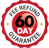 Fee 60 day fee refund guarantee