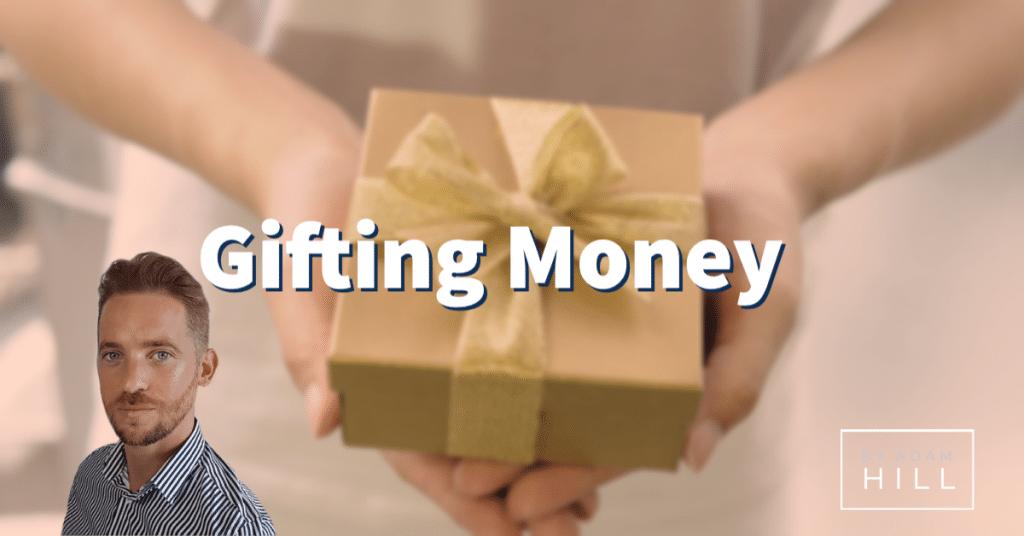 gift money to family
