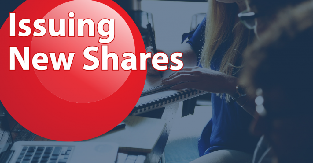 New Shares Issued