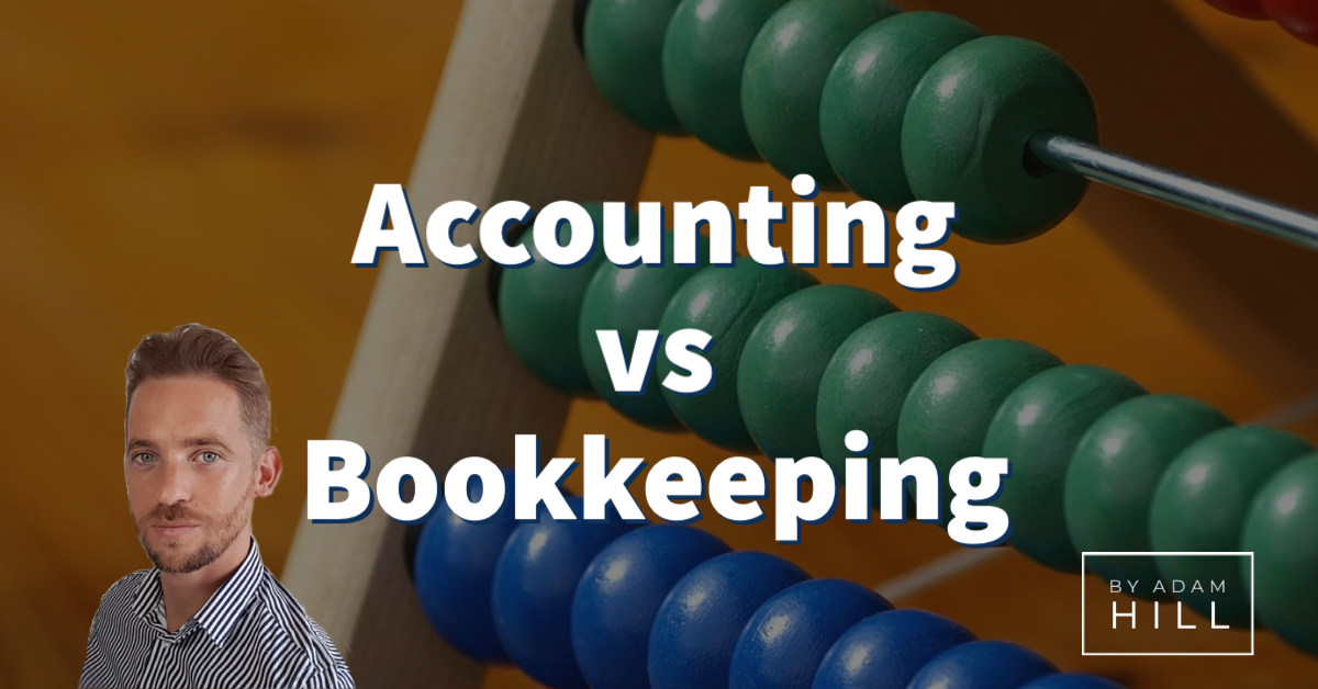 1 key difference between bookkeeping and accounting
