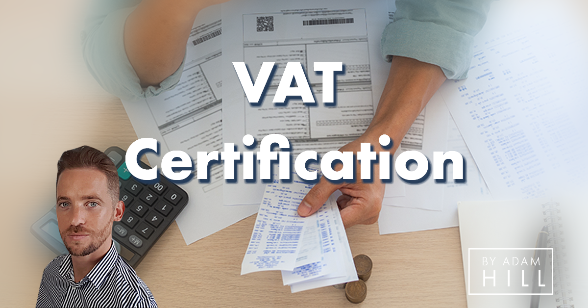 Vat Certification