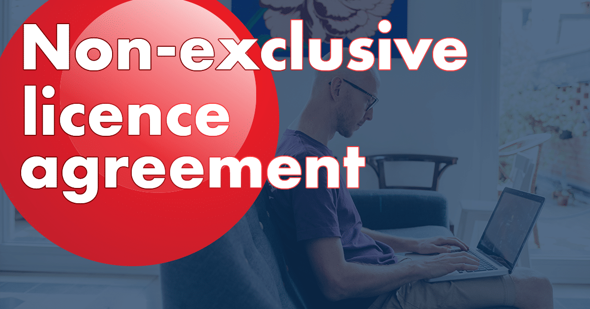 Non-exclusive licence agreement