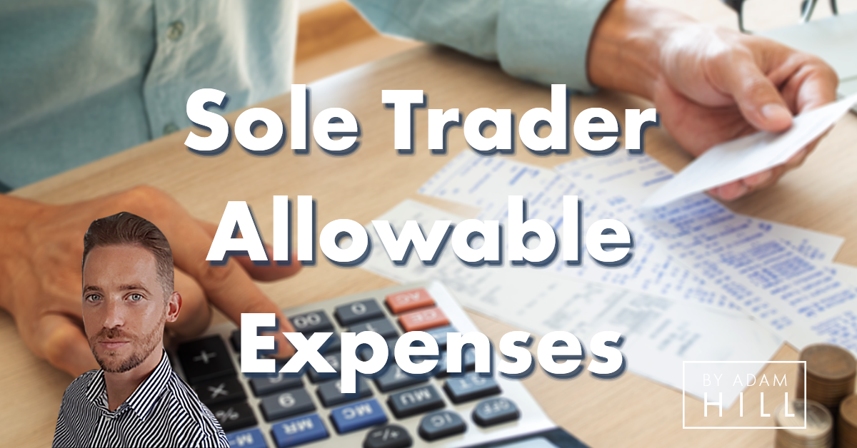 Sole trader allowable expenses
